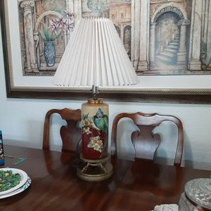 Table Lamp With A Bird Design/ Vintage Lamp/ Antique for Sale in Brandon, FL