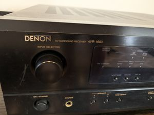 Denon AVR-1603 5.1 channel stereo surround sound receiver for Sale in Los Angeles, CA