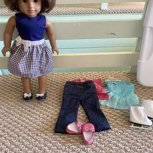 American Girl Doll With Three Outfits for Sale in Athens, GA