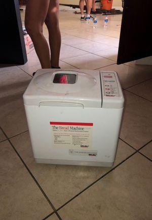 Bread machine for Sale in Naples, FL