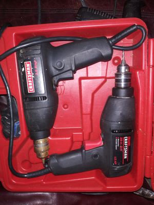 Craftsman drill set for Sale in Edwardsville, PA