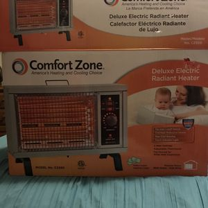 Comfort Zone Deluxe Radiant Heater; $15; sells for $34.95; brand new for Sale in Gastonia, NC