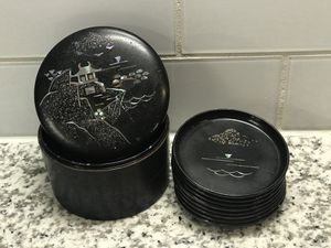 Chinese coaster set for Sale in Dallas, TX