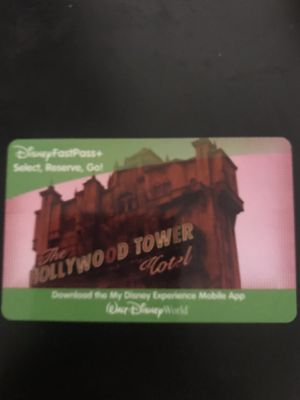 DISNEY TICKET!!!!! for Sale in New Cumberland, PA