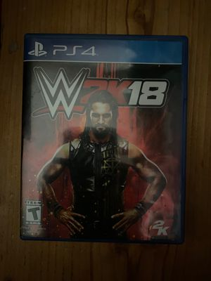 Wwe2k18 ps4 game for Sale in San Carlos, AZ