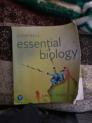 Essential biology 7e for Sale in Riverside, CA