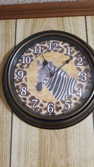 Zebra clock for Sale in Monroe, LA