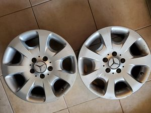 "2 Mercedes 16"" rims for Sale in Gulf Breeze, FL"