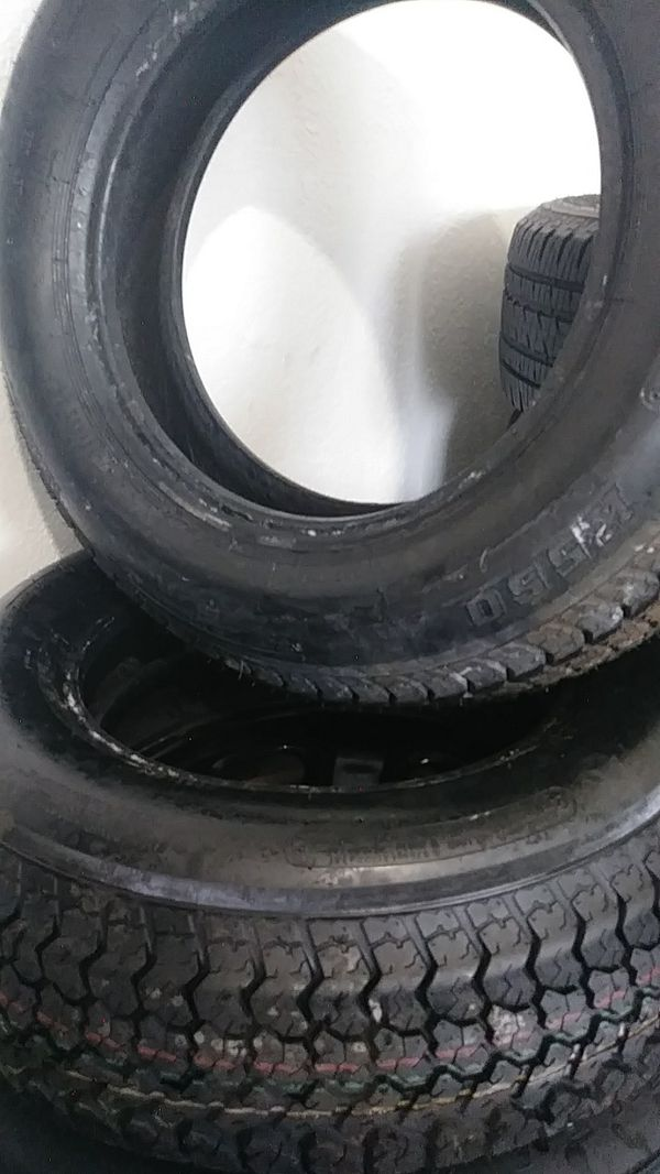 2 used tire for trailer ST 225/75D15