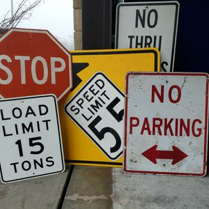 5 Authentic Traffic Signs for Sale in Temple, TX