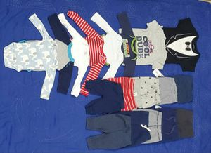 Baby boy clothes for newborn, 0-3 & 3 months for Sale in Lockport, NY