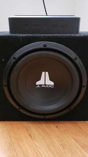 JL Audio 10w0 and Rockford amp for Sale in Alexandria, VA