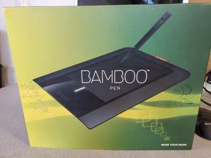 wacom ctl460 bamboo pen tablet for Sale in Alexandria, VA