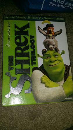 Shrek trilogy box set DVD movies for Sale in Long Beach,  CA