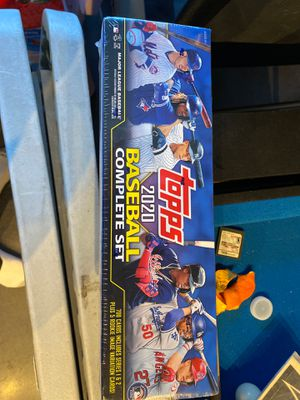 1 factory sealed set baseball cards 2020 tops and one Luis Roberts rookie card for Sale in Gilroy, CA