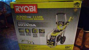 RYOBI 3300 PSI 2.3 GPM Cold Water Gas Pressure Washer with Honda GCV190 Idle Down for Sale in Takoma Park, MD