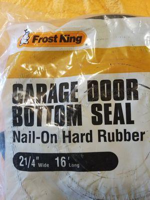 """Frost King Garage Door Bottom Seal 2-1/4"""" x 16' NEW! for Sale in Somerset, NJ"""