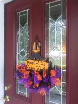 Halloween wreath for Sale in Columbia, SC