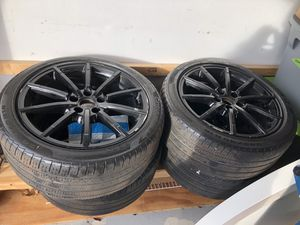 4 Cinturato p7 all season tires 245/40 R18 for Sale in Olmsted Falls, OH