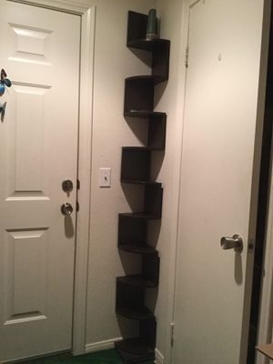 2 corner wall display shelves - $45 for Sale in Escondido, CA