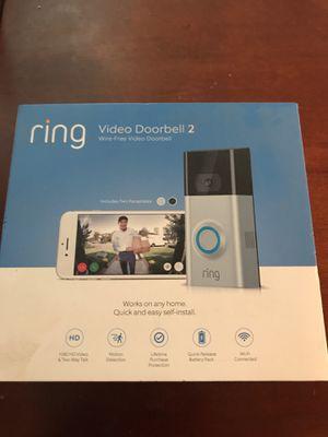 Ring video doorbell2 for Sale in Santa Ana, CA