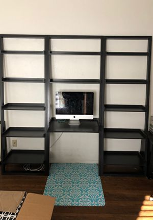 Crate and Barrel ladder desk and shelves for Sale in San Diego, CA