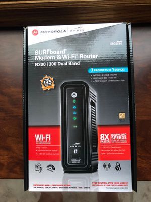 SURFboard Modem & Wi-Fi Router for Sale in Columbus, OH