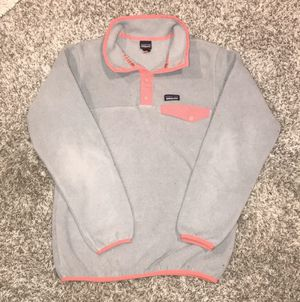 Patagonia T snap pullover fleece youth XL 14 for Sale in Cicero, IL