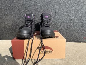 Woman Avenger work safety boots 6 1/2 for Sale in Mountain View, CA