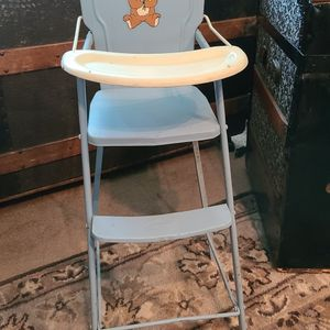 Vintage Amsco Metal Doll High Chair 1950's for Sale in Carpentersville, IL