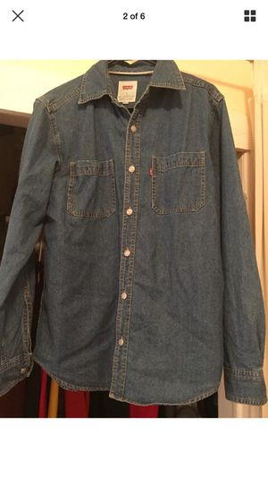Levi's denim long sleeve shirt small for Sale in Seattle, WA