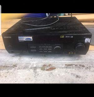 Kenwood Surround stereo w/channel speaker for Sale in Apopka, FL