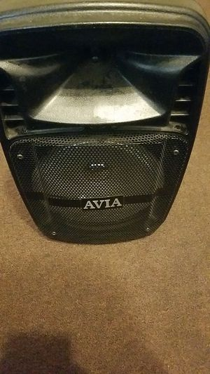 Avia bluetooth speaker best offer for Sale in Lindsay, CA