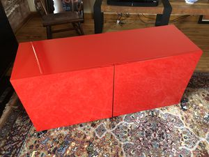 Red Lacquer Cabinet for Sale in St. Louis, MO