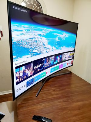 """Samsung 49"""" Curved!! Smart tv UHD HDR 4k!!! Excellent picture for Sale in Mesa, AZ"""