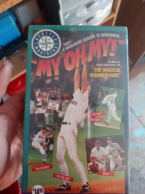 Mariners vhs for Sale in Buckley, WA