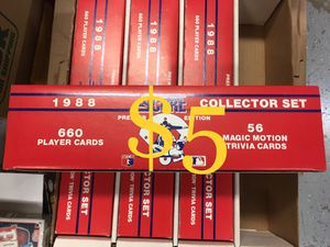 Baseball Card Set 1988 Score Factory Complete $5 each for Sale in Fountain Valley, CA