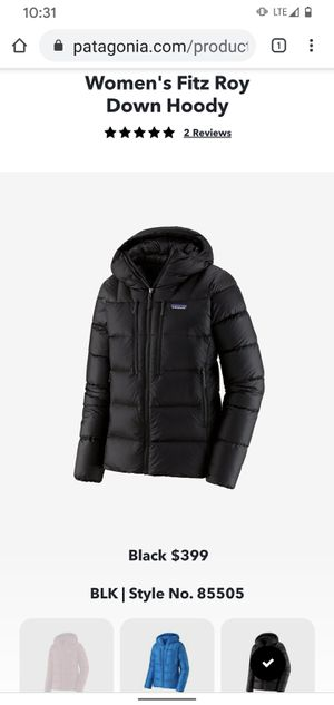 Patagonia fitzroy jacket for Sale in Buffalo Ridge, SD