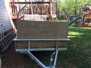 Landscape trailer or toy hauler for Sale in New Hill, NC