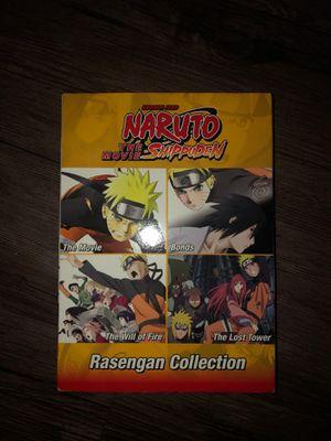 4 Naruto Shippuden Movies for Sale in West Sacramento, CA