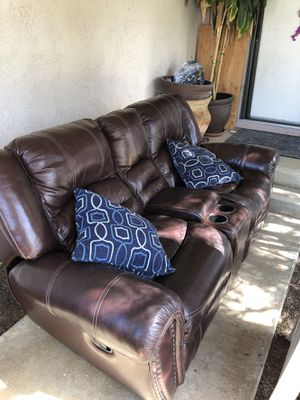 2 Leather Sofas for Sale in San Marcos, CA