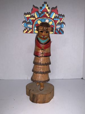 Hopi cloud girl (Shalko Mana) Kachina for Sale in Phoenix, AZ