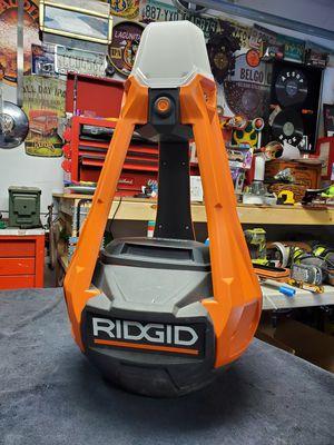 Ridgid 18v hybrid self righting area light for Sale in Mesa, AZ