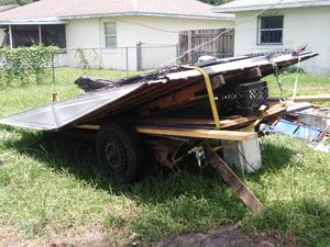 Shed & trailer for sale. Shed is now disassembled and already on the trailer ready to haul off. for Sale in Bartow, FL