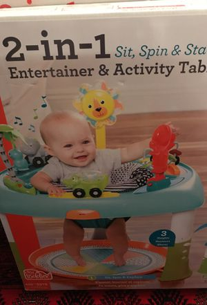 Brand new entertainer and activity table NEVER OPENED for Sale in Centreville, VA