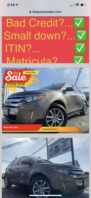 2013 Ford Edge we Finance Aqui financeamos for Sale in National City, CA