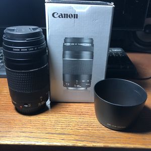 Canon Ef 75-300mm F/4-5.6 for Sale in Whittier, CA