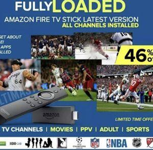 Fire TV Stick 4K Model Unlocked for Sale in Chicago Ridge, IL