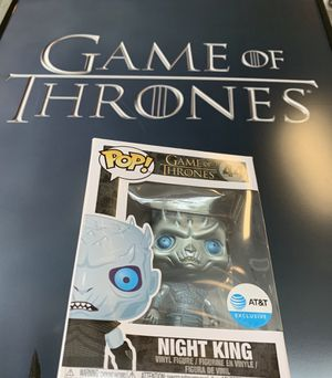 FUNKO POP LIMITED EDITION METALLIC NIGHT KING for Sale in Falls Church, VA