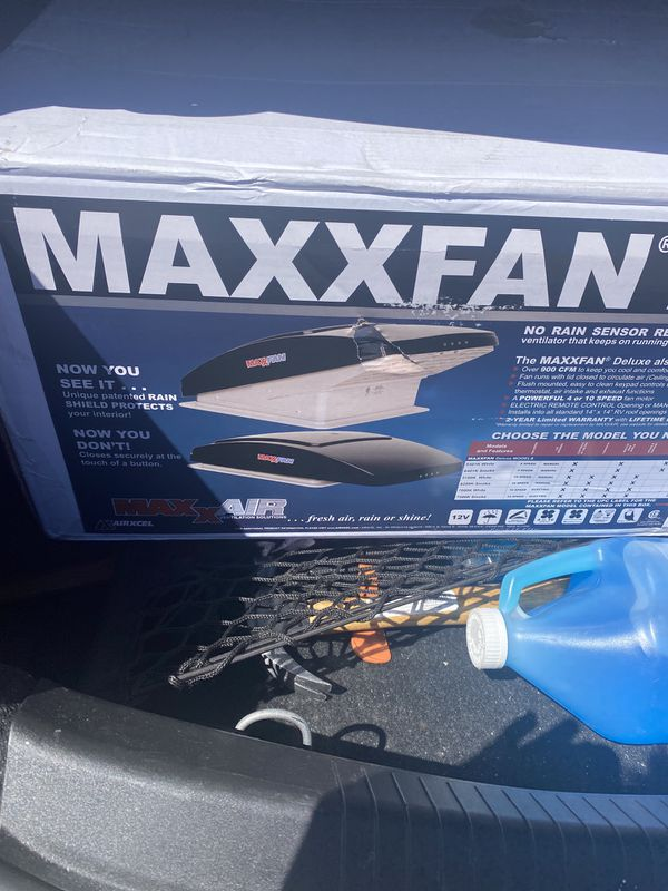 Max fan does all types of things brand new for a rv